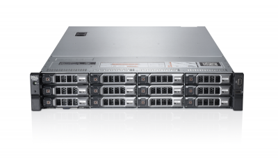 Сервер Dell PowerEdge R720XD, 2 процессора Intel Xeon 8C E5-2680 2.70GHz, 64GB DRAM, 12LFF