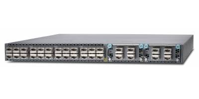 Коммутатор QFX5100, 24 QSFP ports, 2 expansion slots, redundant fans, redundant power supplies, PSU