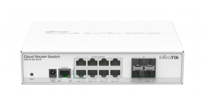 Коммутатор Cloud Router Switch Mikrotik CRS112-8G-4S-IN  (RouterOS L5)