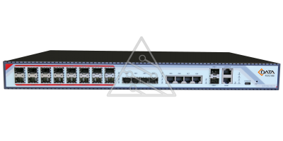 OLT C-DATA FD1216S-R1 с 16 портами GEPON (SFP), 4хSFP, 4хRJ-45, 2хSFP+, 2 БП АC