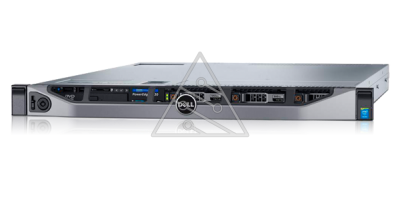 Сервер DELL PowerEdge R630, 2 процессора Intel Xeon 8C E5-2620v4 2.10GHz/20MB, 32GB DRAM, 8SFF, PERC