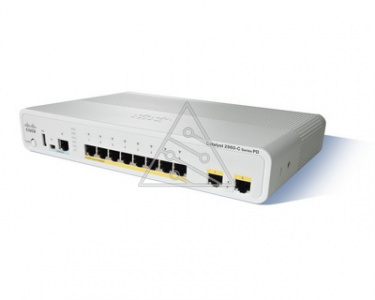 Коммутатор Cisco Catalyst WS-C2960CPD-8TT-L