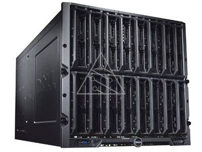 Блейд-система Dell PowerEdge M1000e, 8 блейд-серверов M610: 2 процессора Intel Xeon Quad-Core L5520