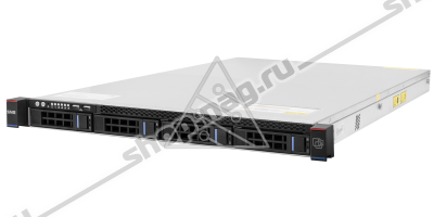 Сервер SNR-SR1204R, 1U, 1 процессор Intel 8C E5-2620v4 2.10GHz, 32G DRAM