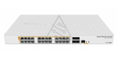 Коммутатор Cloud Router Switch Mikrotik CRS328-24P-4S+RM